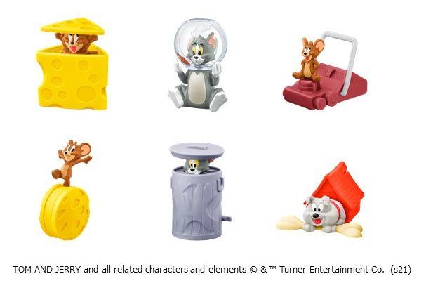 トムとジェリーらしいコミカルな世界観を再現 & 環境に配慮した取り組みも強化!おもちゃ&パッケージともにプラスチックフリー ハッピーセット(R)「トムとジェリー」「くまのがっこう」