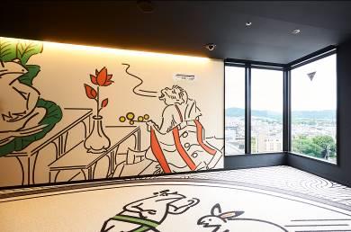 【ホテルタビノス京都】鳥獣戯画オリジナルグッズを特典としてプレゼント 文化財保護の支援プラン販売開始