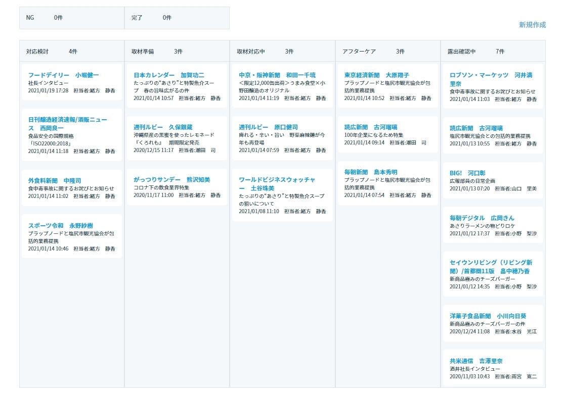 """広報PRのDX推進ツール「PRオートメーション」に新たに""""取材カード""""機能を1月20日(水)より搭載"""