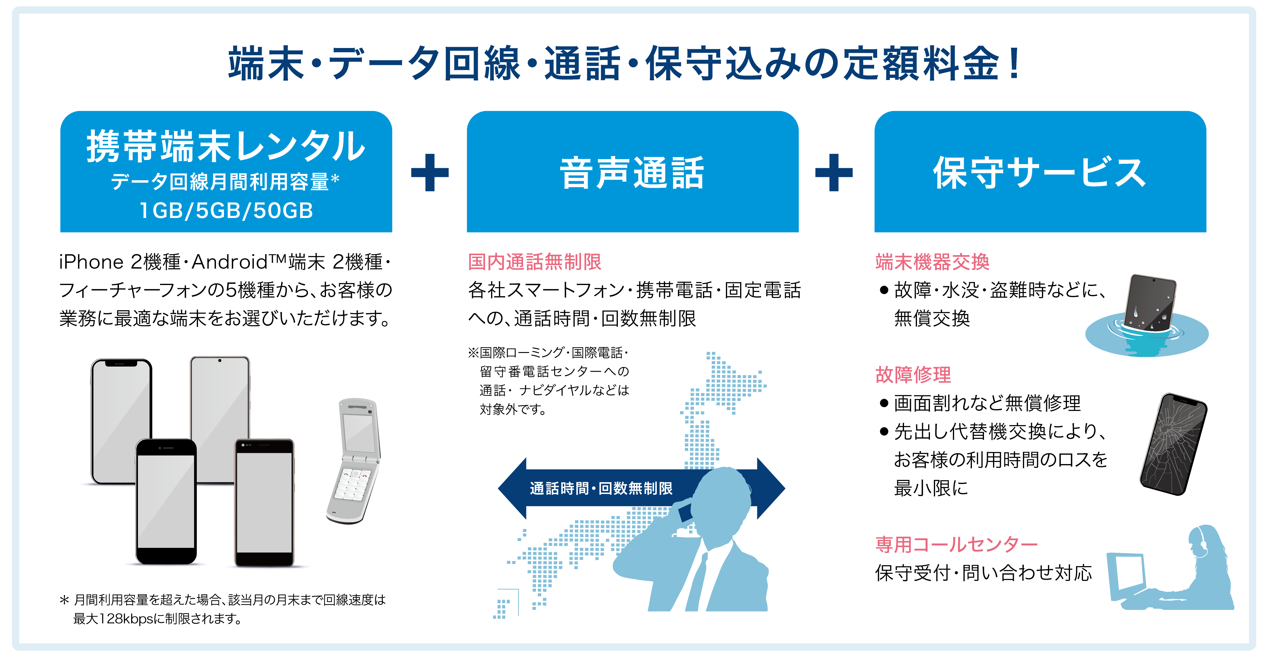 【リコージャパン】音声通話・データ通信・保守を含んだ定額制 法人向けモバイル端末レンタルサービスを提供開始