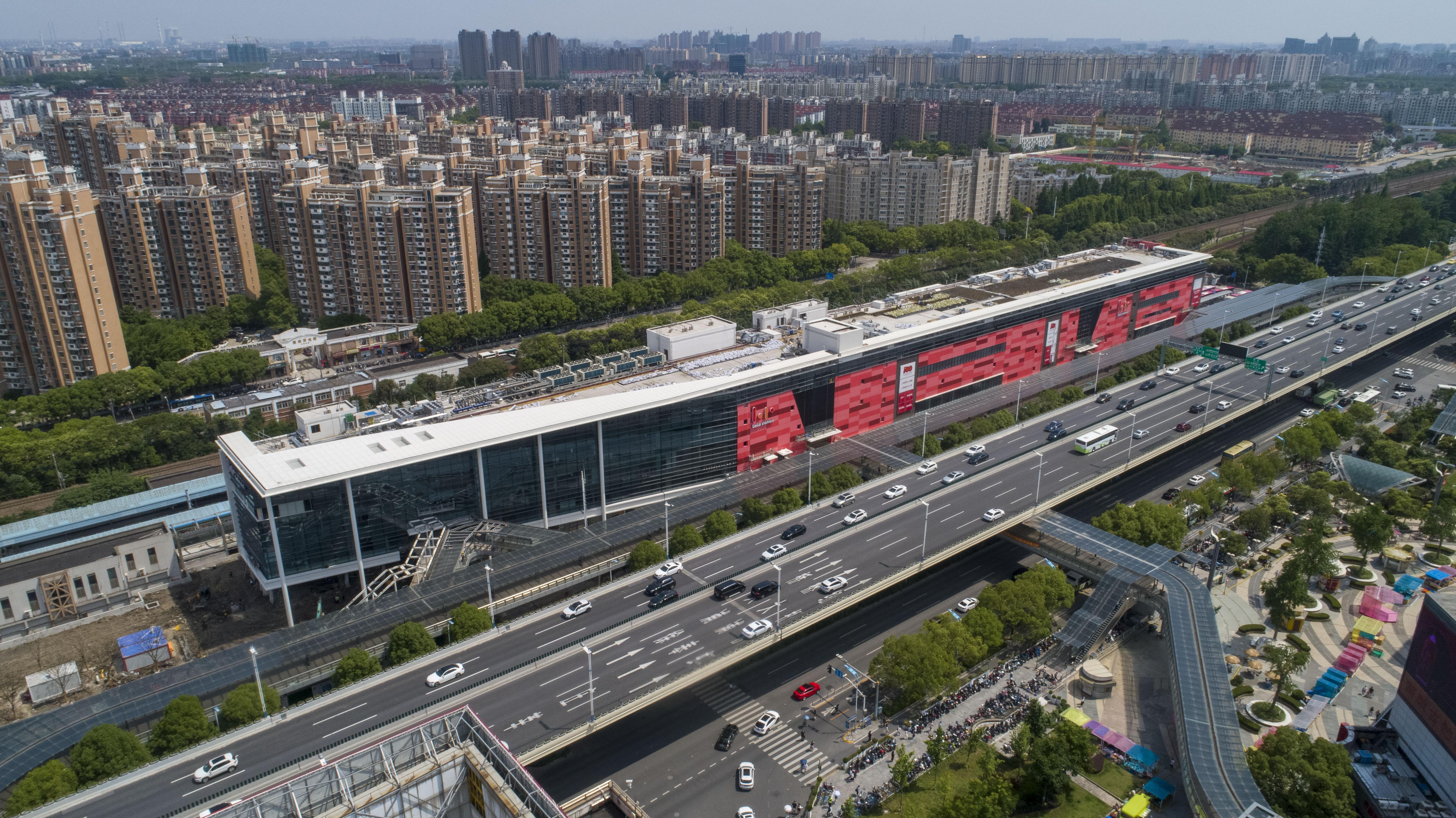 海外における三井不動産初の駅ビル商業施設「三井ショッピングパーク ららステーション上海蓮花路」に名称決定。中国・上海に2021年内開業予定